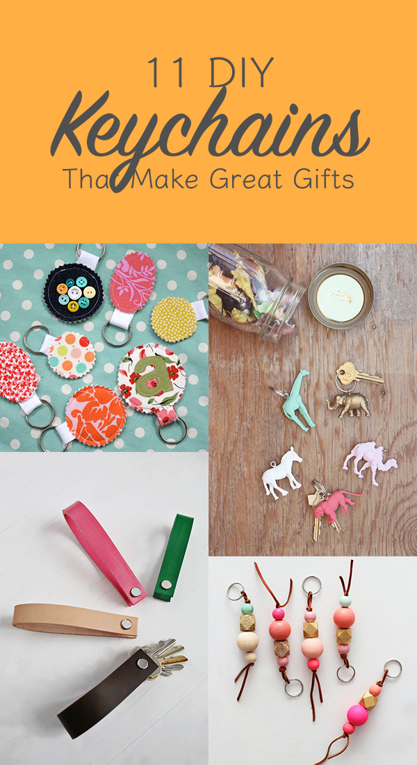11 Cute DIY Keychains That Make Great Gifts