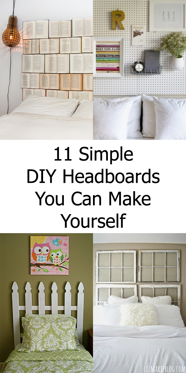 11 Simple DIY Headboards You Can Make Yourself