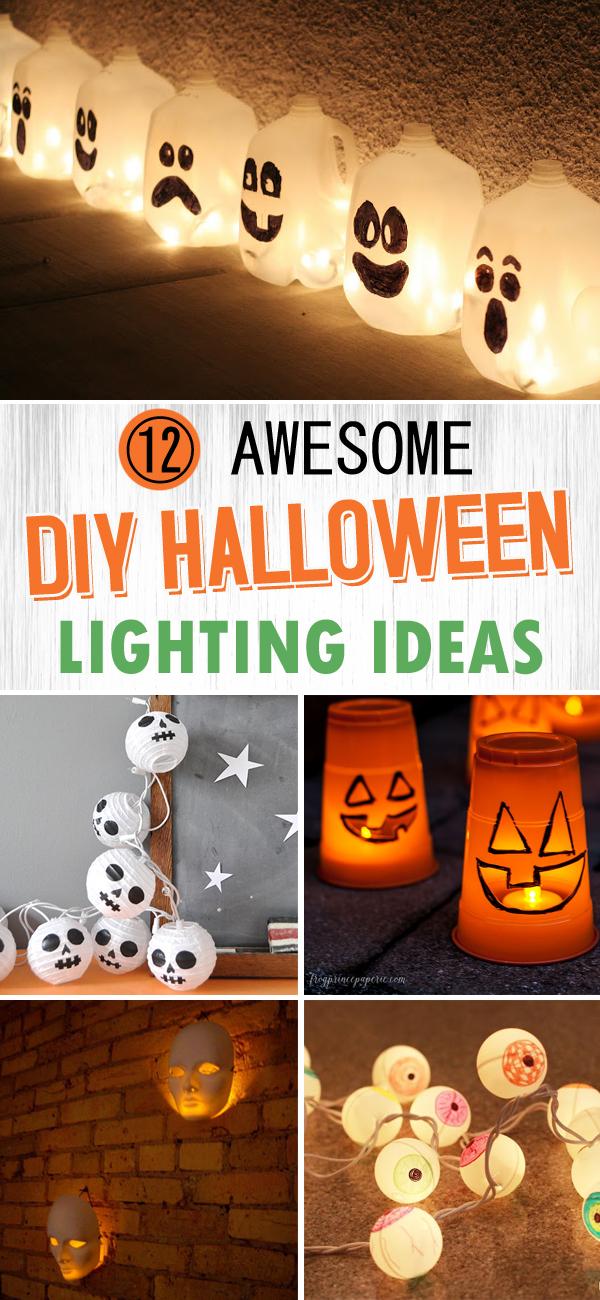12 Awesome DIY Halloween Lighting Ideas