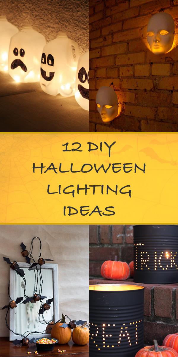 12 DIY Halloween Lighting Ideas