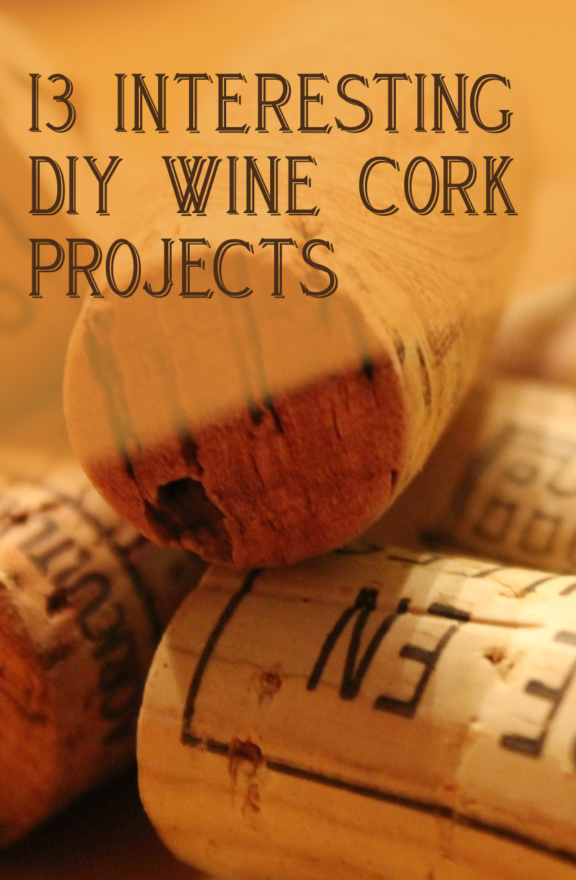13 Interesting DIY Wine Cork Projects