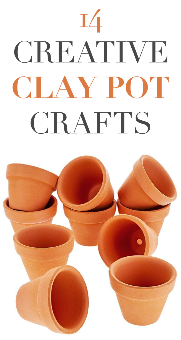 14 Creative Clay Pot Crafts to Make at Home