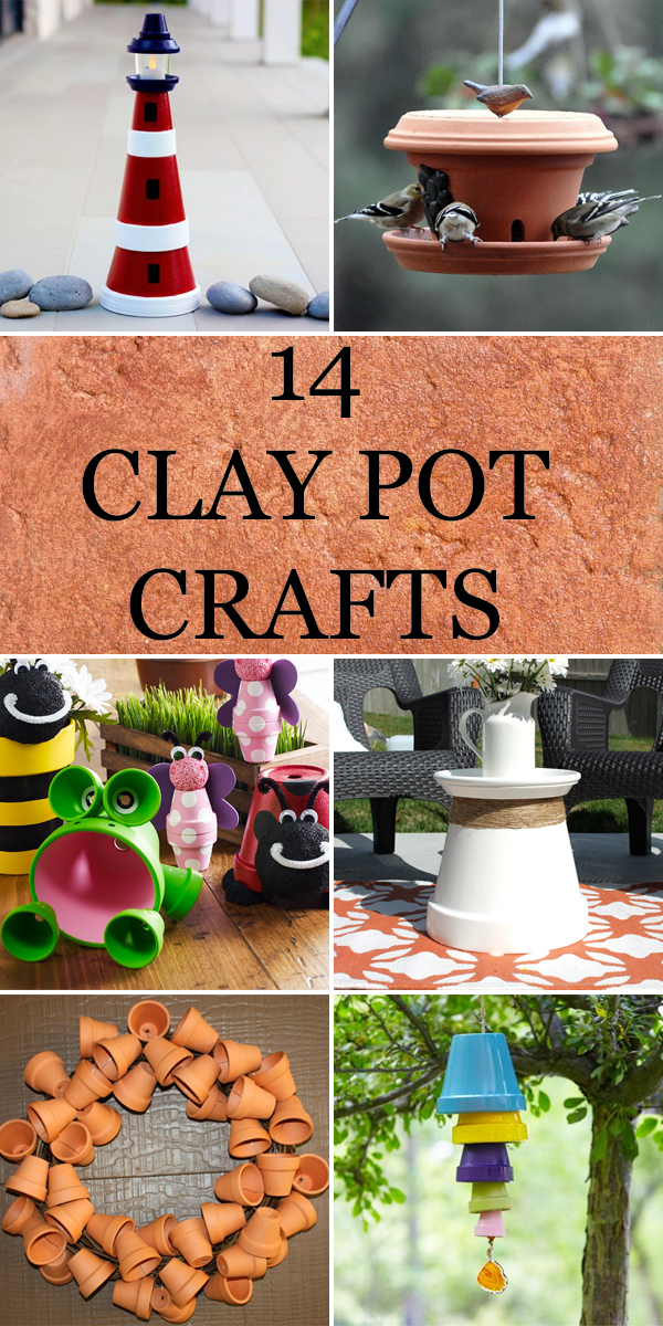 14 Fun Clay Pot Crafts to Make at Home