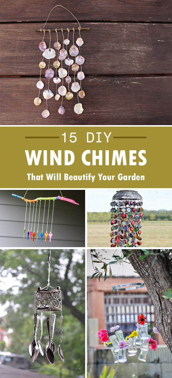 15 Creative DIY Wind Chimes That Will Beautify Your Garden