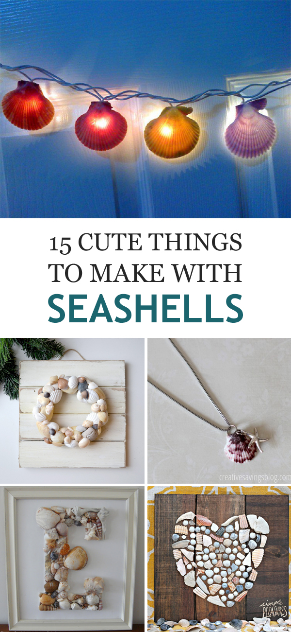 15 Cute Things to Make with Seashells