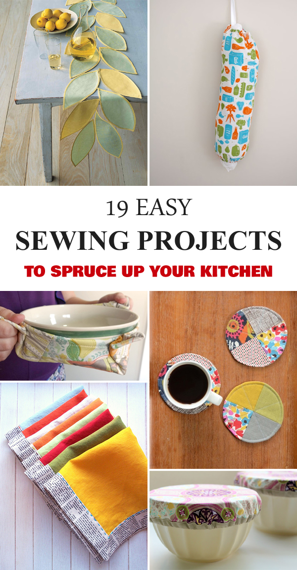 19 Easy Sewing Projects To Spruce Up Your Kitchen