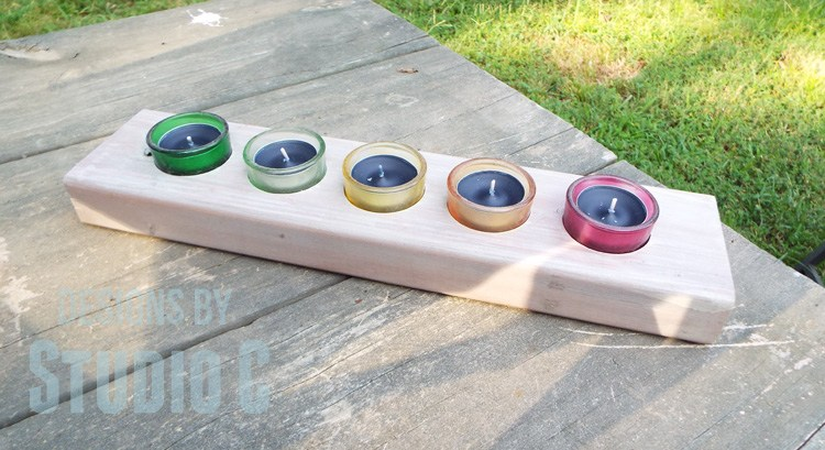 2×4 Candle Holder