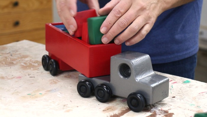 2×4 Wooden Toy Truck