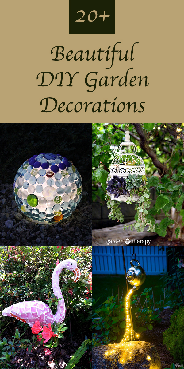20+ Beautiful DIY Garden Decorations To Spruce Up Your Backyard