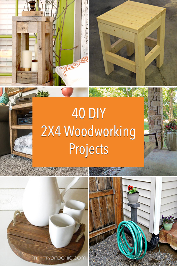 40 Diy 2x4 Woodworking Projects