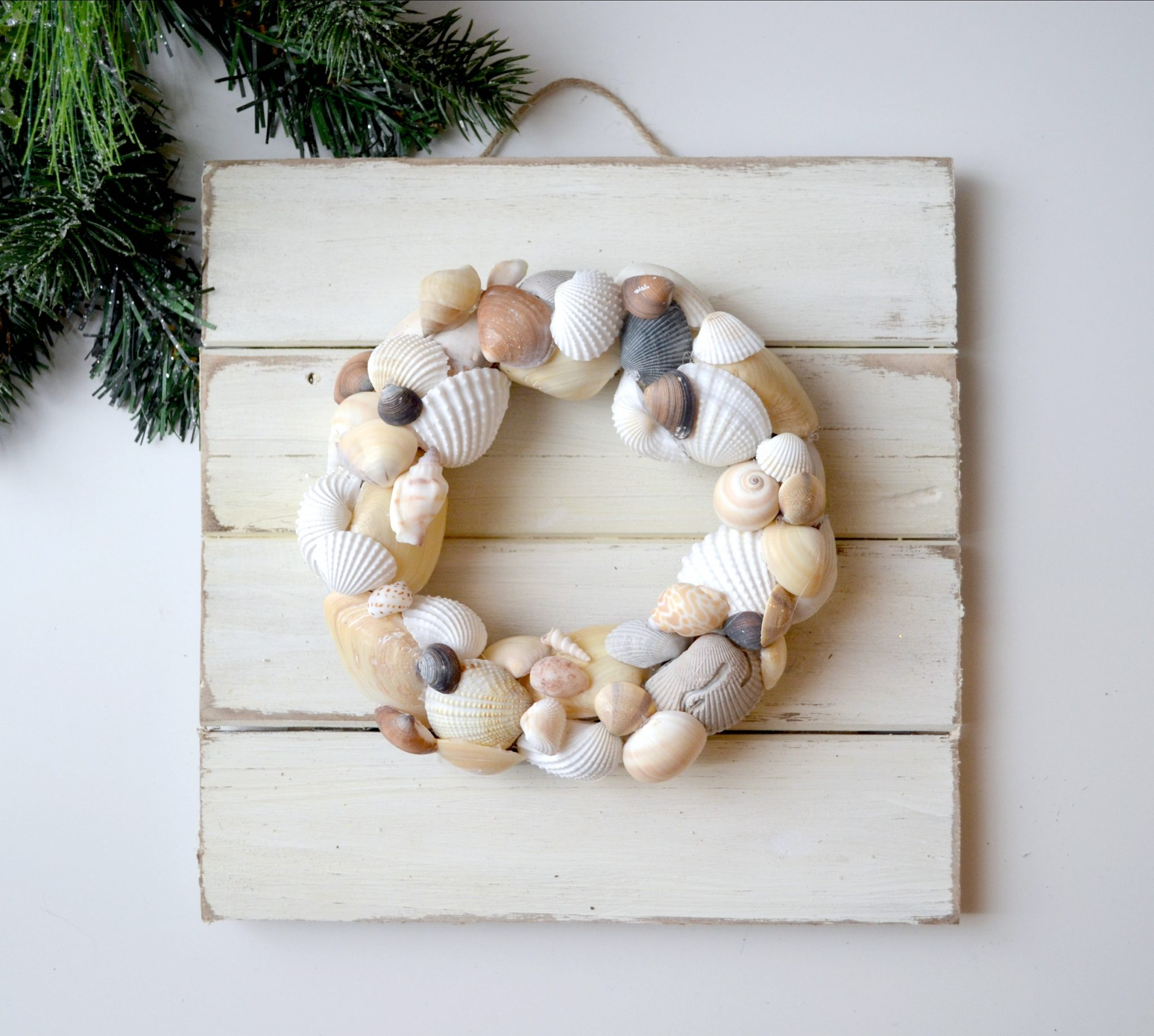 Coastal Seashell Wreath