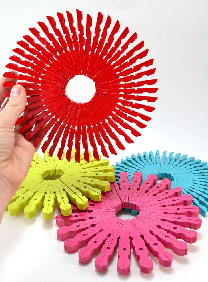 Colorful Trivets
