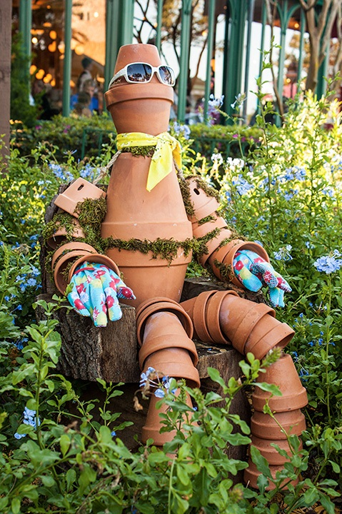 Flower Pot Man