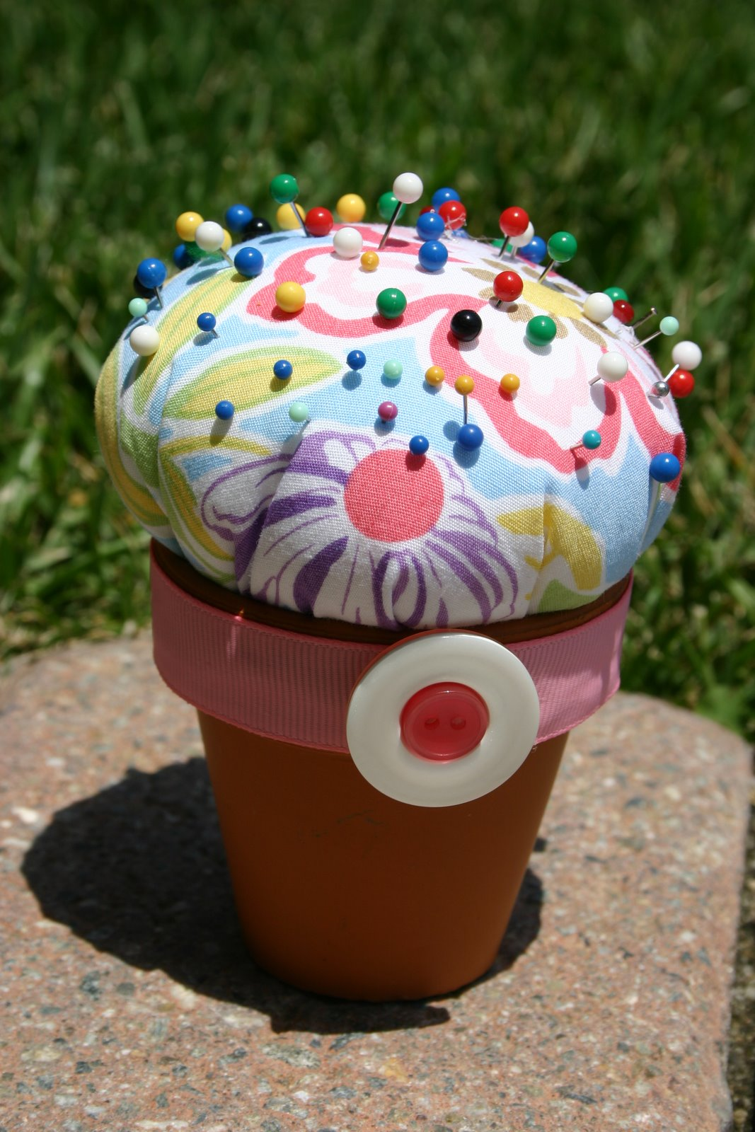 Flower Pot Pincushion