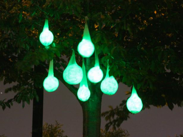 Glowing Halloween Light Pods