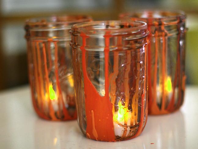 Halloween Drip Jars