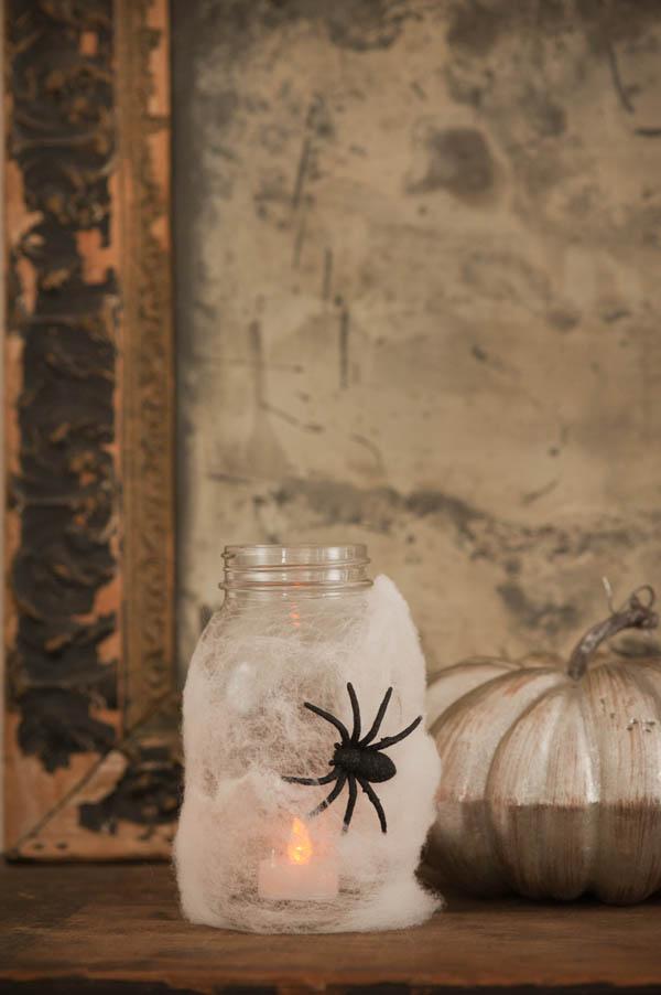 Halloween Spider Lantern