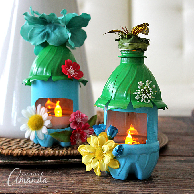 What Can You Make With Plastic Bottles 40 Great Ideas To Try Extraordinary Plastic Bottle Decorations