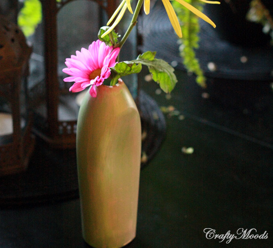 Plastic Bottle Vase