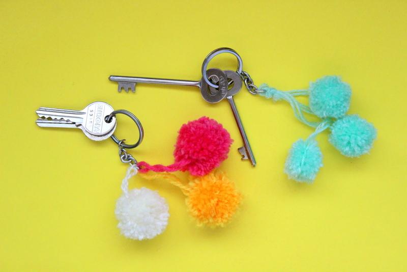 11 Cute Diy Keychains Easy Gift Ideas