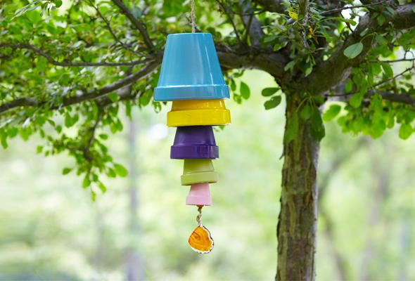 Terracotta Pot Wind Chime