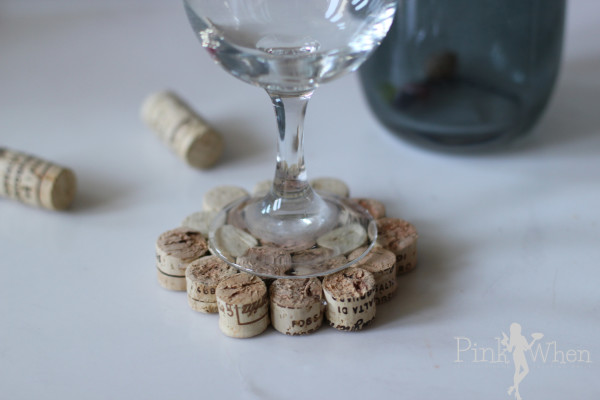 Wine Cork Drink Coaster