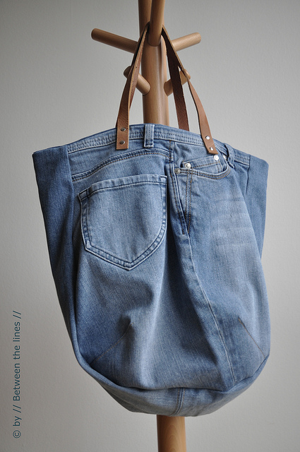 Jeans Handbag