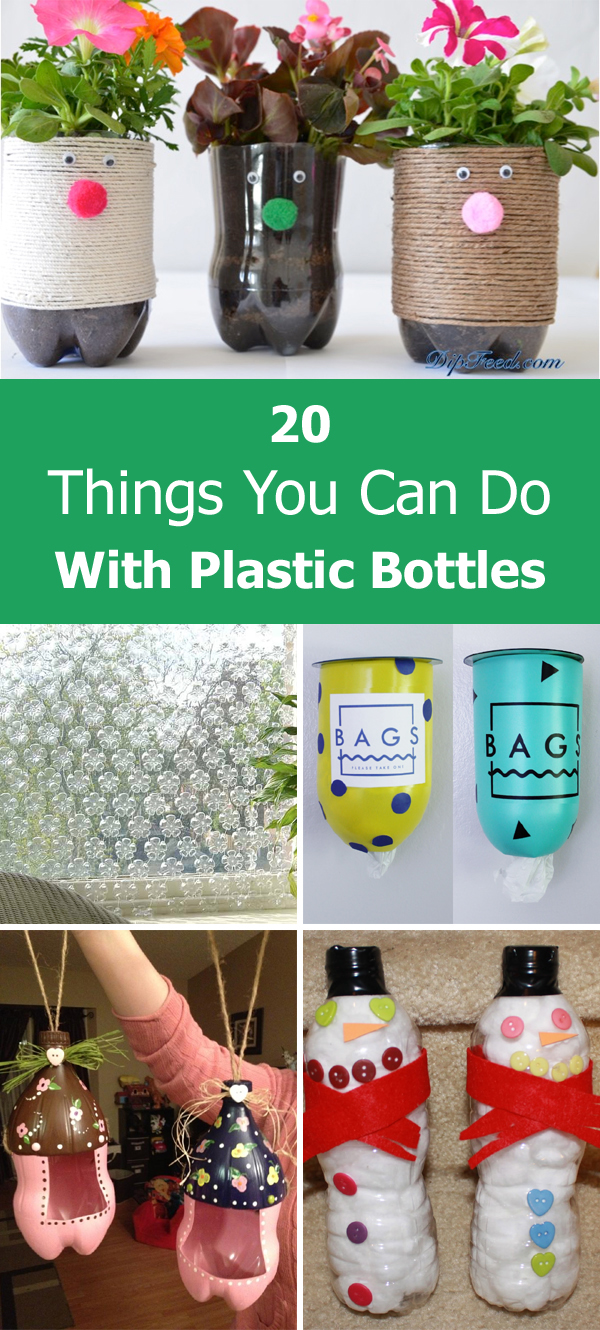things you can do with plastic bottles
