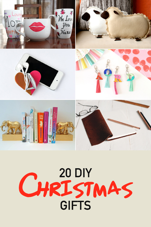 20 DIY Christmas Gifts Your Friends and Family Will Love