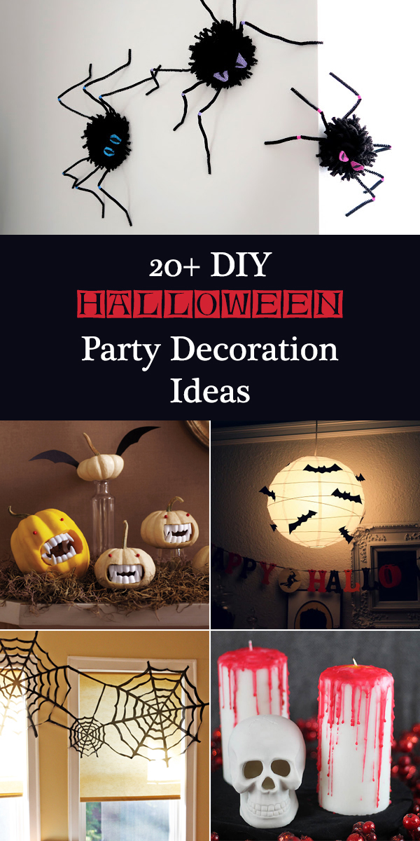 20+ DIY Halloween Party Decoration Ideas