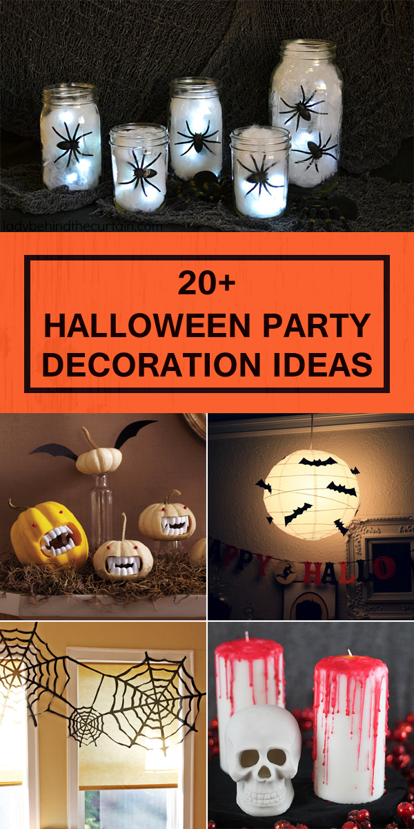 Make your Halloween party unforgettable with these spooky and creative DIY decorations