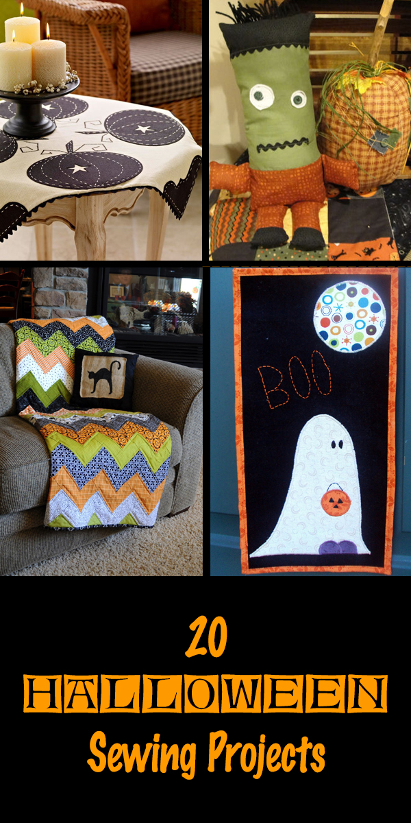 20 Halloween Sewing Projects