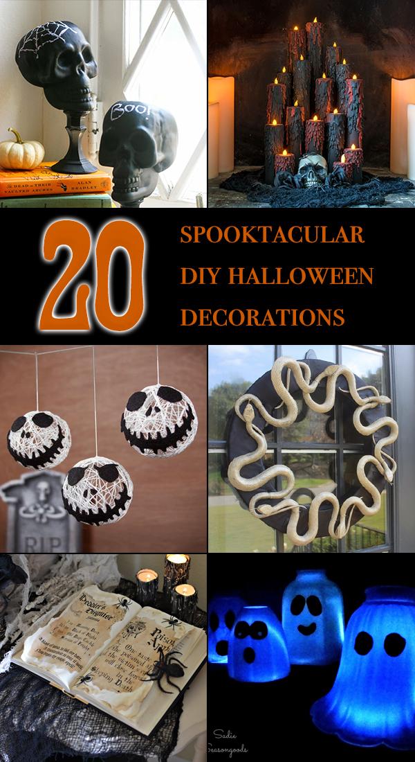 20 Spooktacular DIY Halloween Decorations
