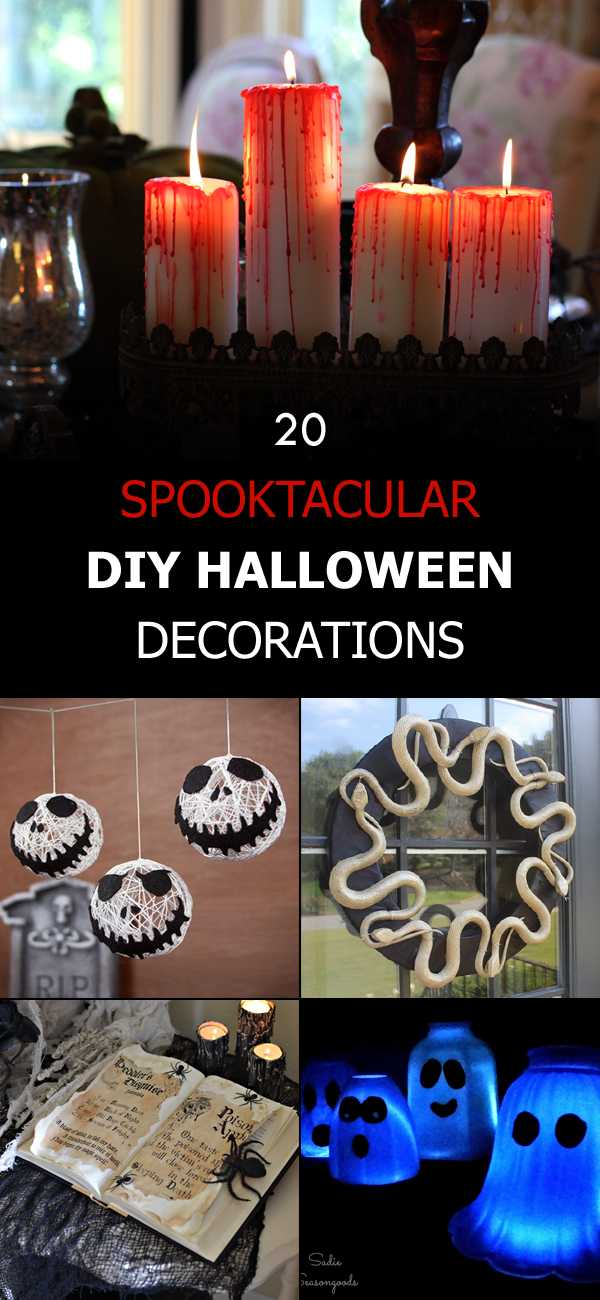 20 Spooktacular DIY Halloween Decorations