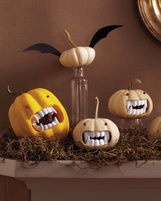 Fanged Pumpkins