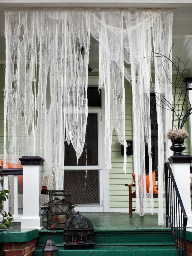 Ghostly Outdoor Draperies