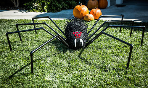 Giant Halloween Lawn Spider