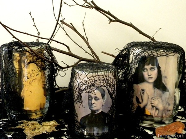 Halloween Scary Jars