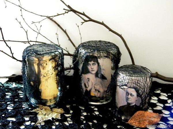 Halloween Scary Jars