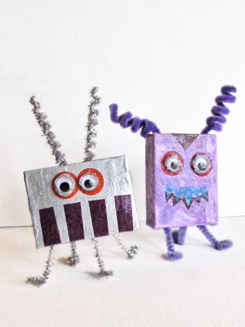 Cardboard Box Monsters