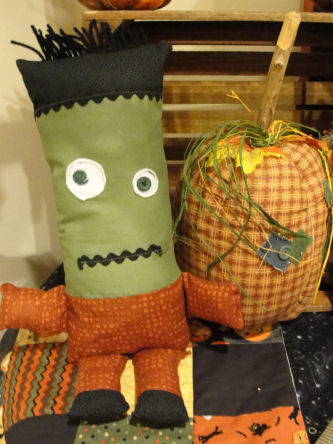 """Son of Frankenstein"" Halloween Doll"