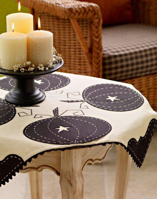 Sophisticated Pumpkin Tablecloth