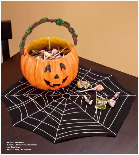 Spider web placemats