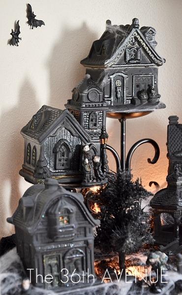 Spooky Halloween Village