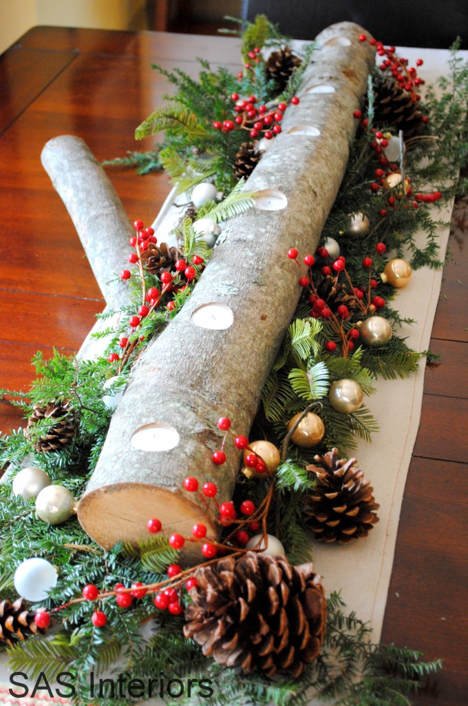 5 the christmas log