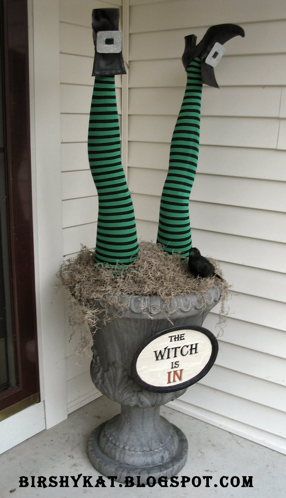 Witch Legs Planter