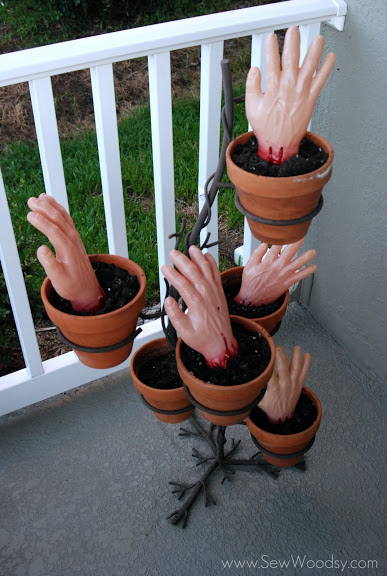 Zombie Planted Hands