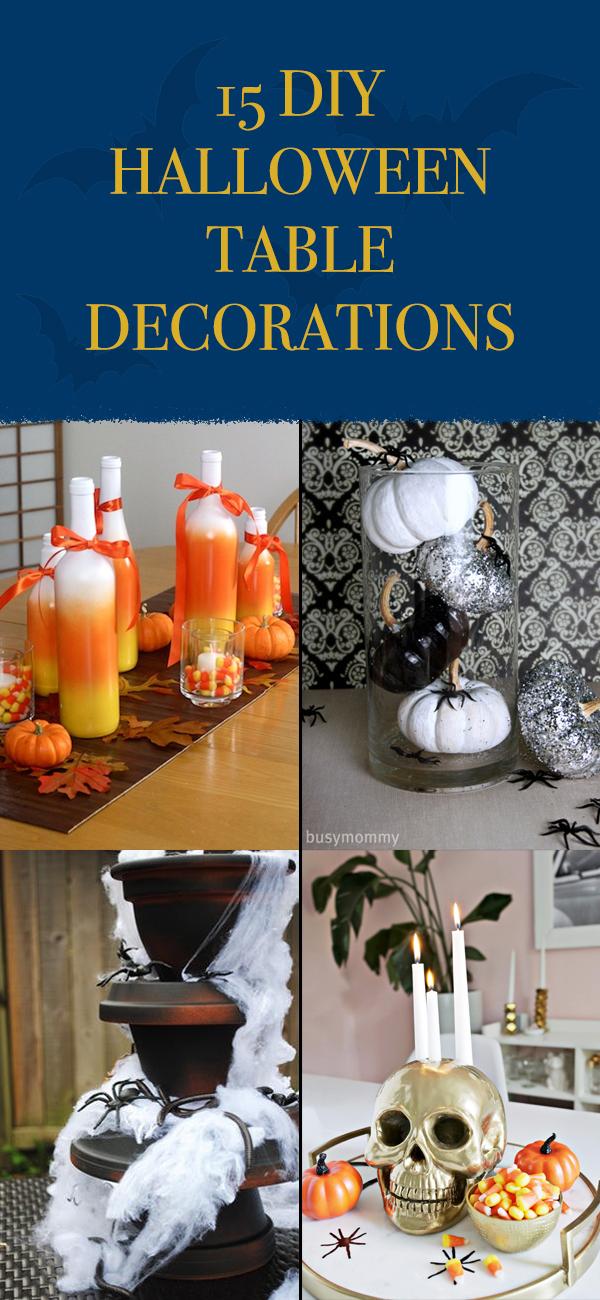 15 Creative DIY Halloween Table Decorations