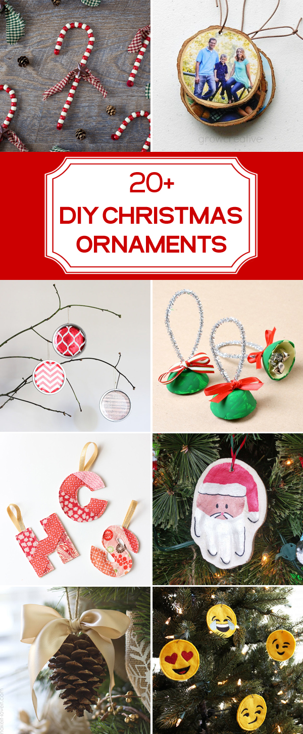20+ DIY Christmas Ornament Ideas