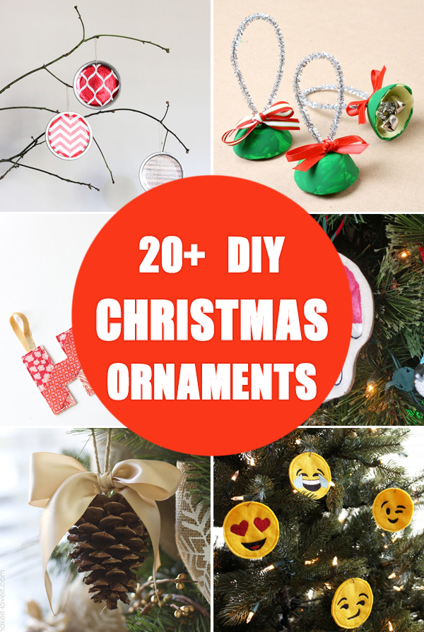 20+ DIY Christmas Ornaments to Make with Your Kids